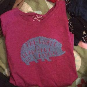 Girls LL Bean T Shirt